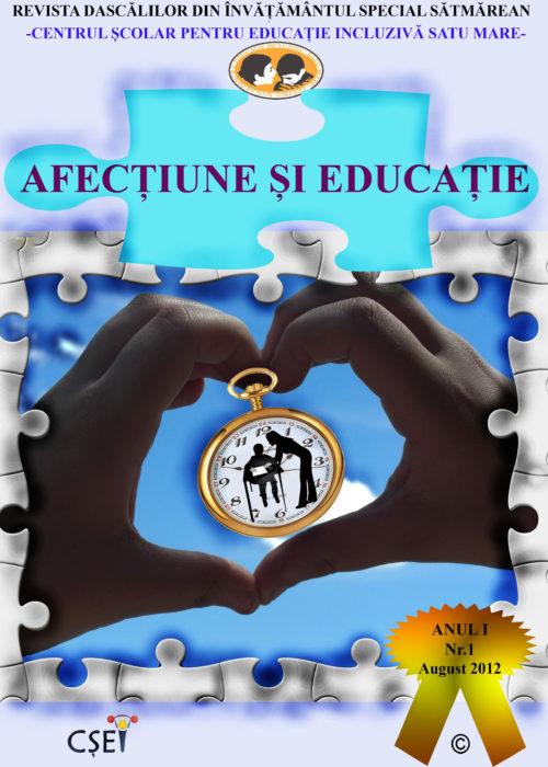 COPERTA FATA A REVISTE AFECTIUNE SI EDUCATIE FINAL